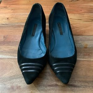 Marc Jacobs Suede Kitten Pump Heels
